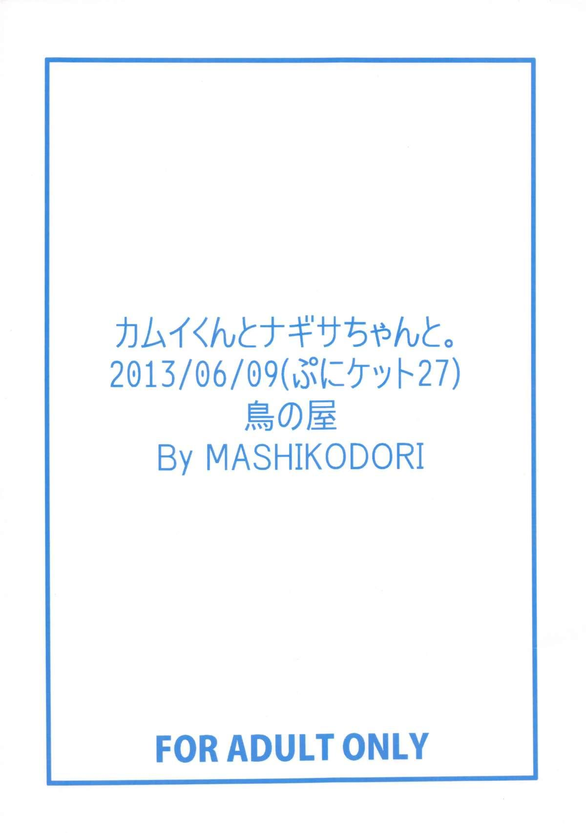 (Puniket 27) [Tori no Ya (Mashikodori)] Kamui-kun to Nagisa-chan to. (Cardfight!! Vanguard) 1