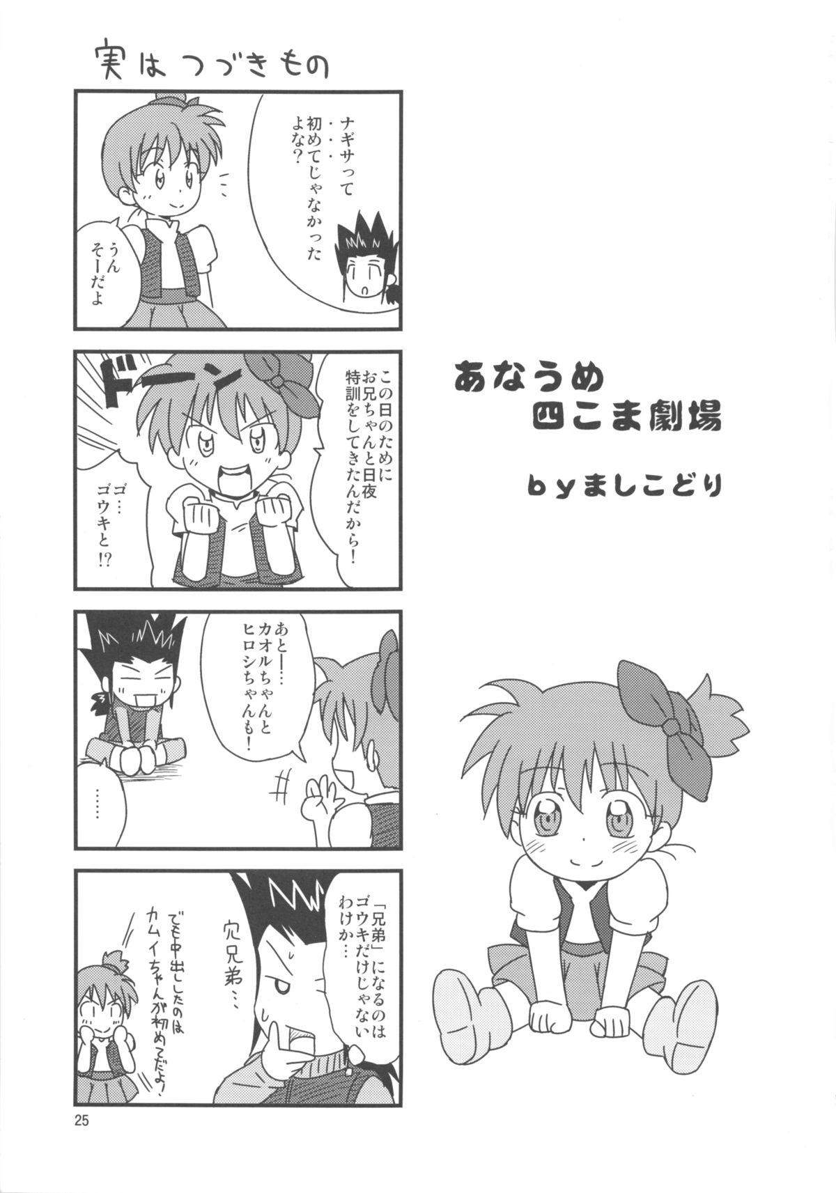 (Puniket 27) [Tori no Ya (Mashikodori)] Kamui-kun to Nagisa-chan to. (Cardfight!! Vanguard) 24