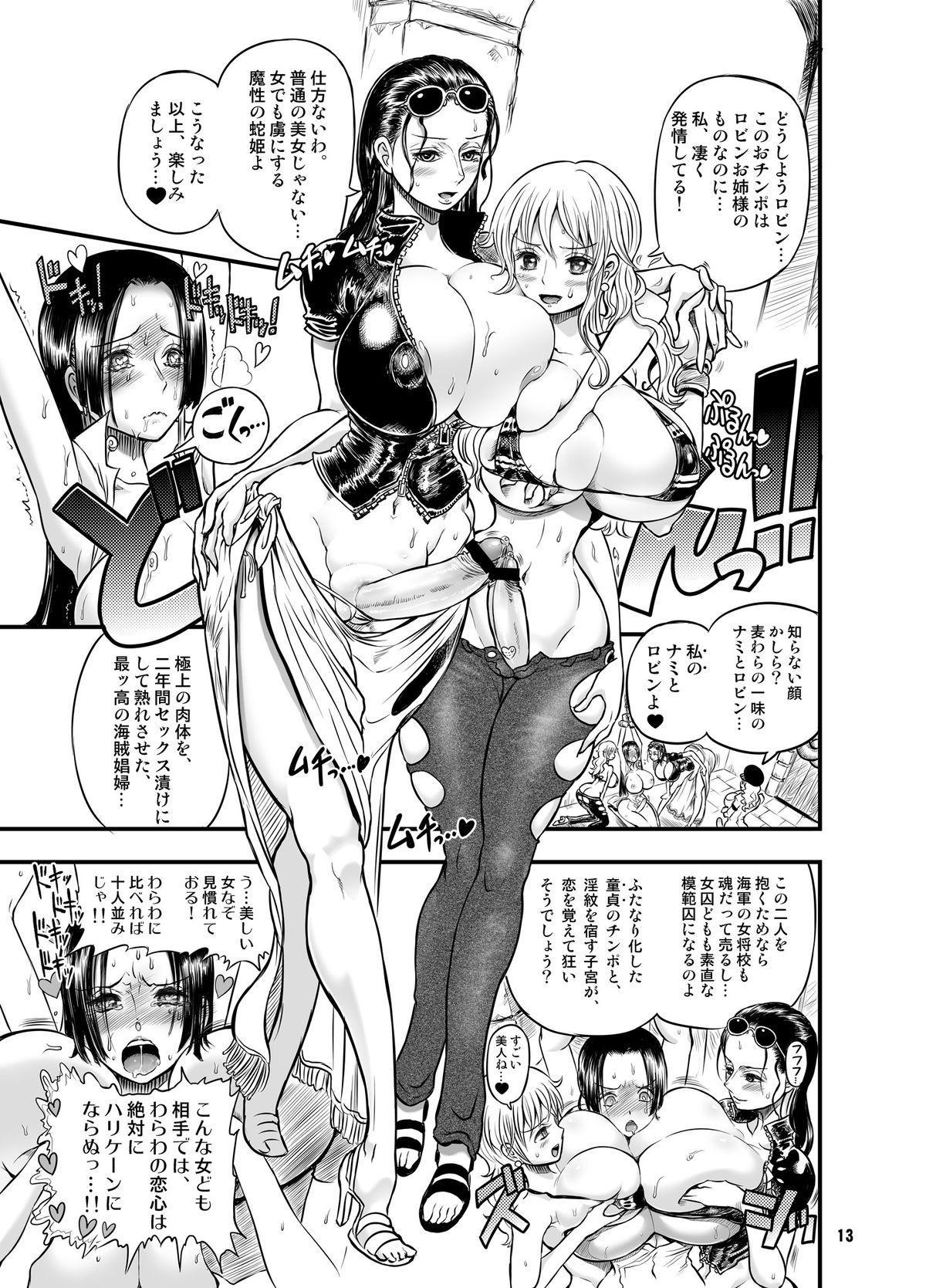 Midarezaki Kaizoku Jotei 12
