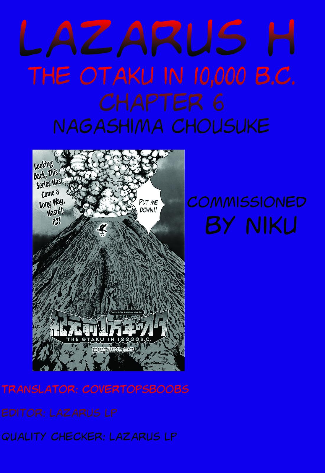 Kigenzen 10000 Nen no Ota   The Otaku in 10,000 B.C. Ch. 1-6 117