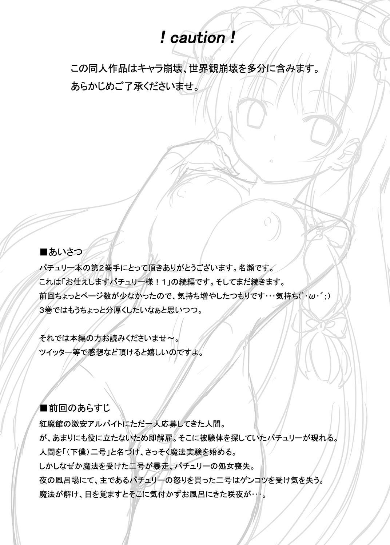 Otsukae shimasu Patchouli-sama! 2 3