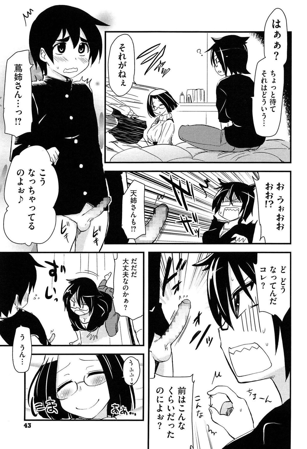 Hotondo no Ane wa H ga Shitai 43