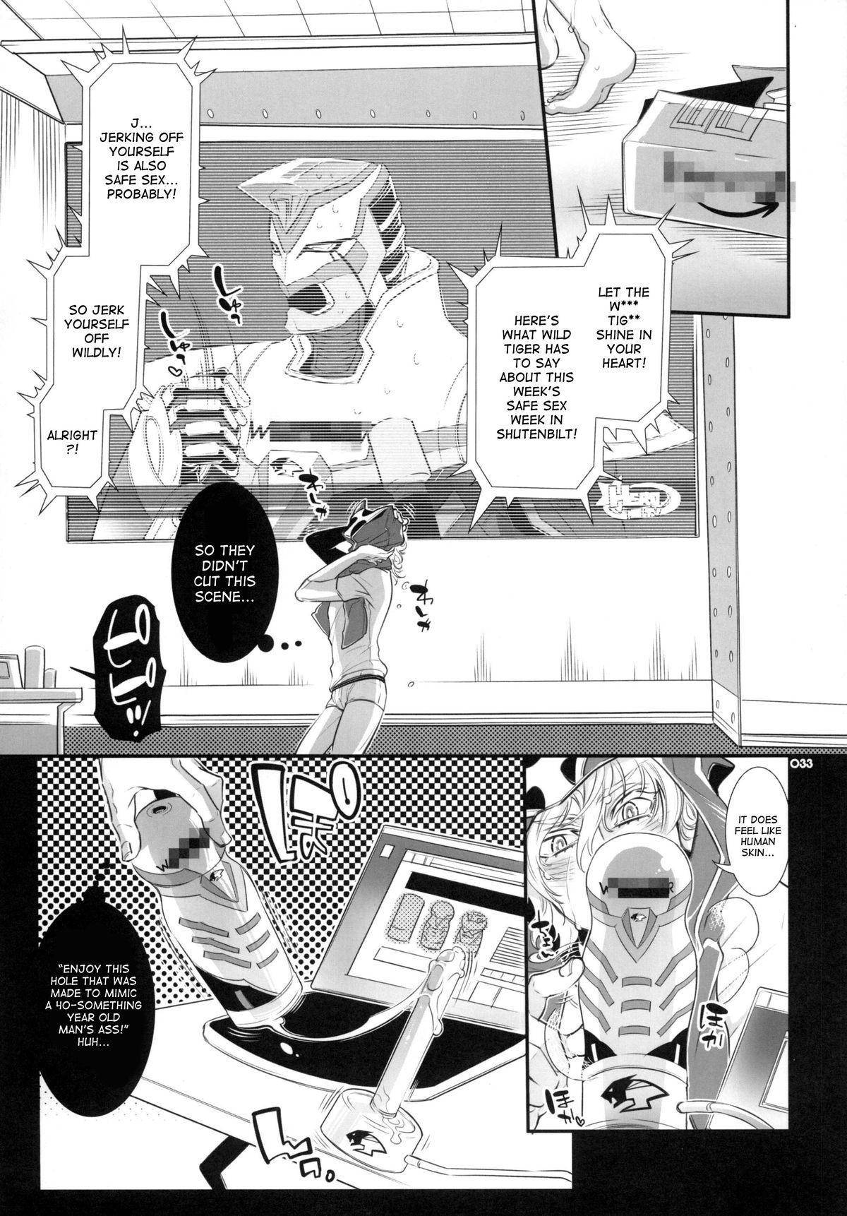 (GONEXT! 4) [Sadistic Mary (Hattori Mitsuka)] Moshimo Oji-san no Sponsor ga Kikan Gentei de Toaru Onahole Maker ni Natta to   What if the Oji-san's sponsor is an onahole maker for a certain time (TIGER & BUNNY) [English] [desudesu] 31