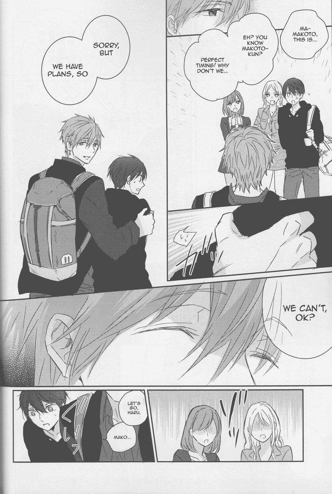 (C87) [Sneeeze (Kubu)] Haru-chan wa mono tarinai. | Haru-chan is Unsatisfied (Free!) [English] 22