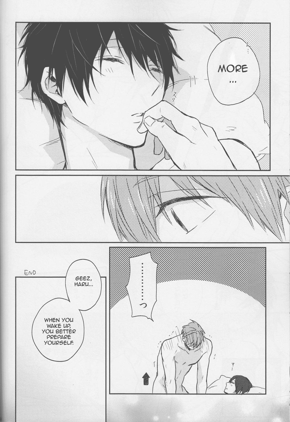 (C87) [Sneeeze (Kubu)] Haru-chan wa mono tarinai. | Haru-chan is Unsatisfied (Free!) [English] 38