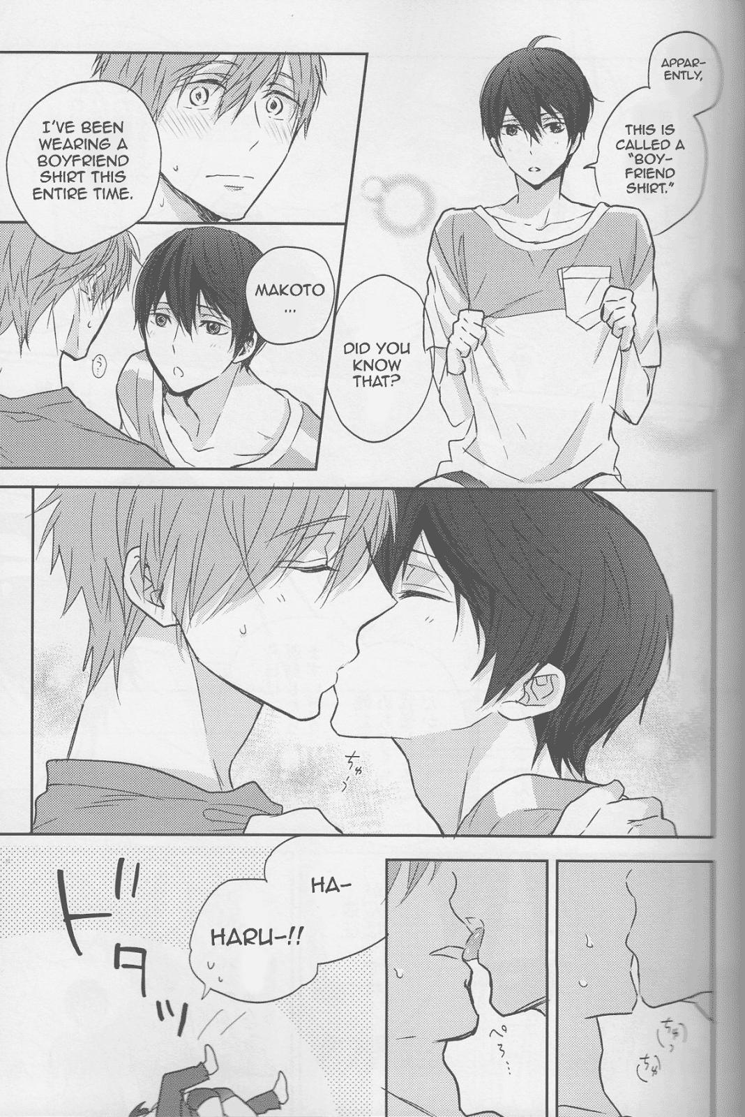 (C87) [Sneeeze (Kubu)] Haru-chan wa mono tarinai. | Haru-chan is Unsatisfied (Free!) [English] 5