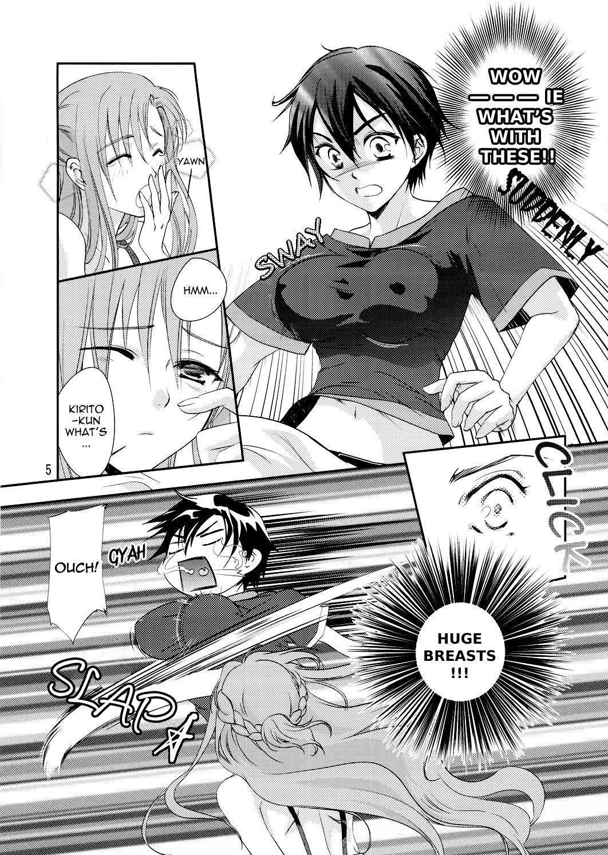 Kirito-kun no Shiroku Betatsuku nani ka 3
