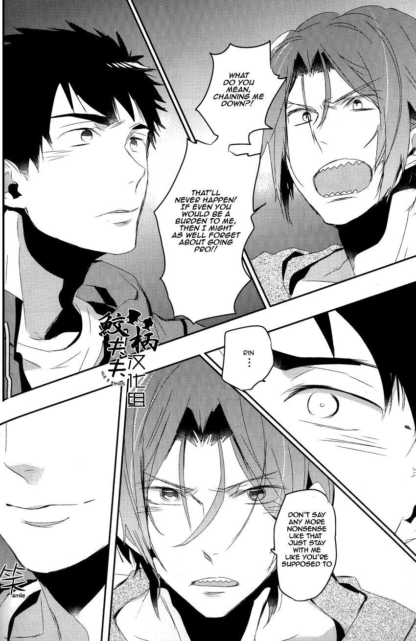 (Renai Jaws 4) [MIKADOYA (Mikado Yuya)] Matsuoka Rin, 18-sai | Rin Matsuoka, 18 year old (Free!) [English] [Carrot-Bunny]| 30