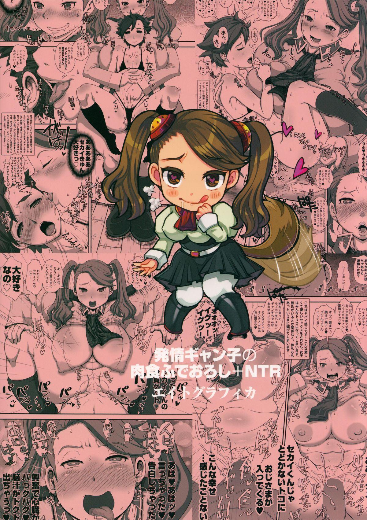 METABOLISM G Hatsujou Gyanko no Nikushoku Fudeoroshi + NTR 25