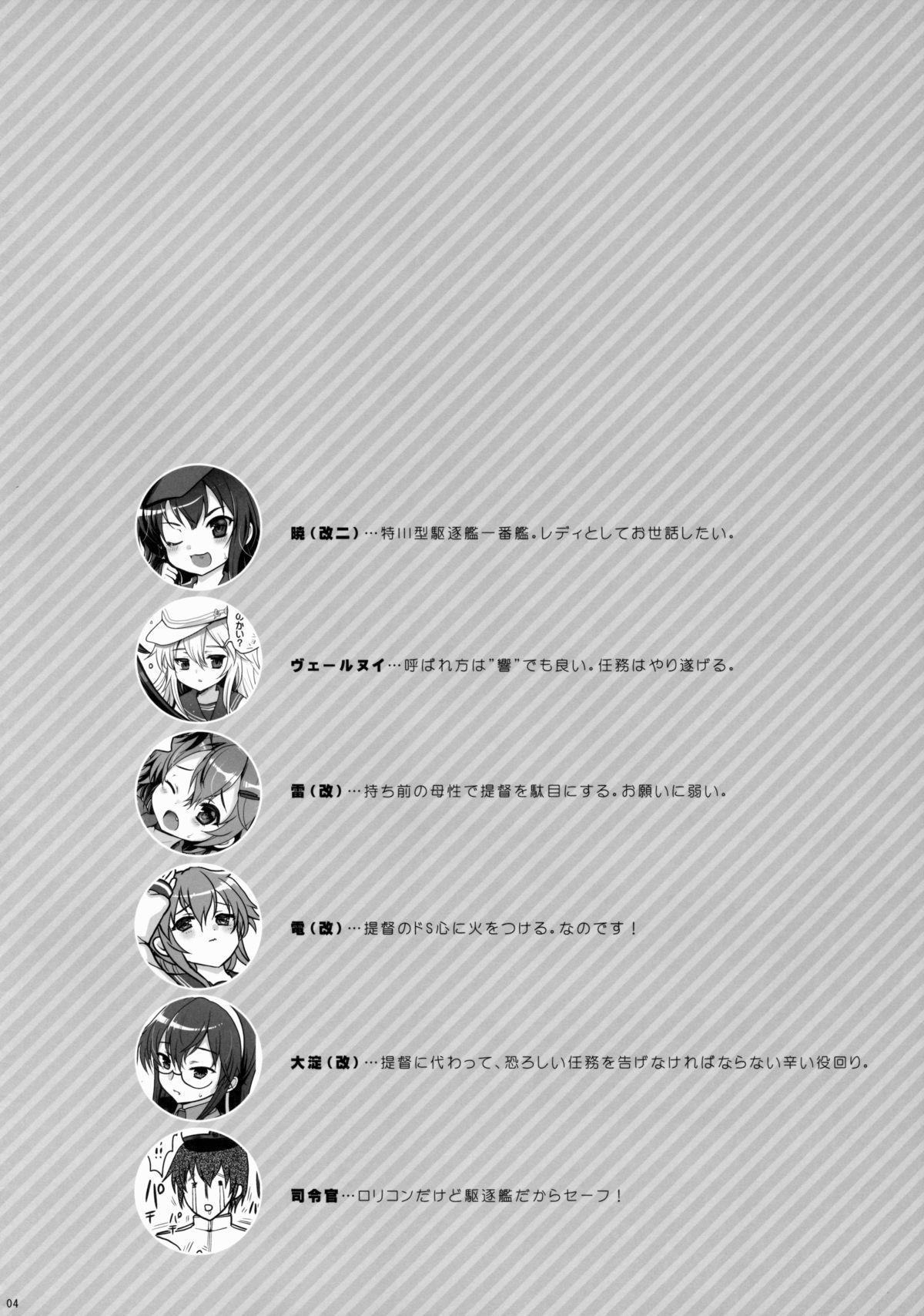 Akatsuki datte Shireikan no Osewa kurai Dekirundakara!! 2