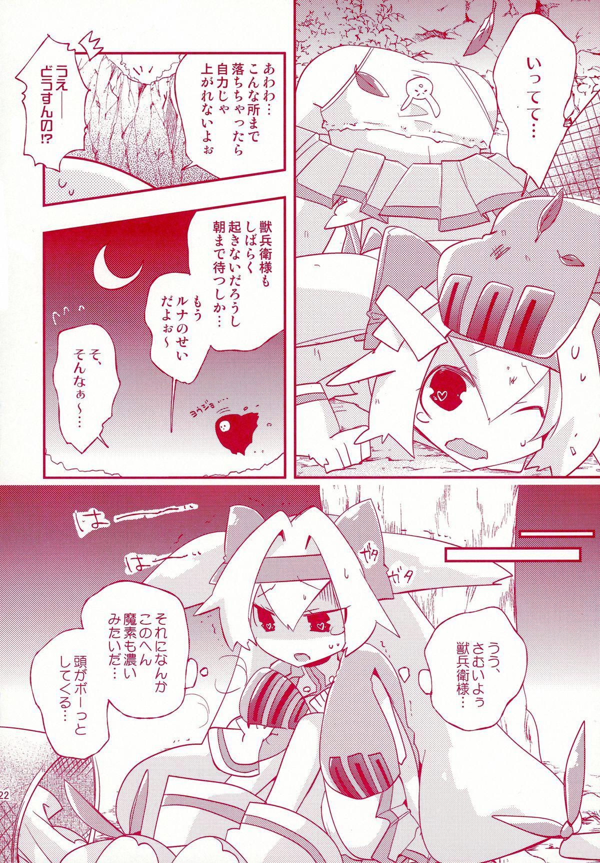 Luna to Sena no Hitori de Dekirumon! 21