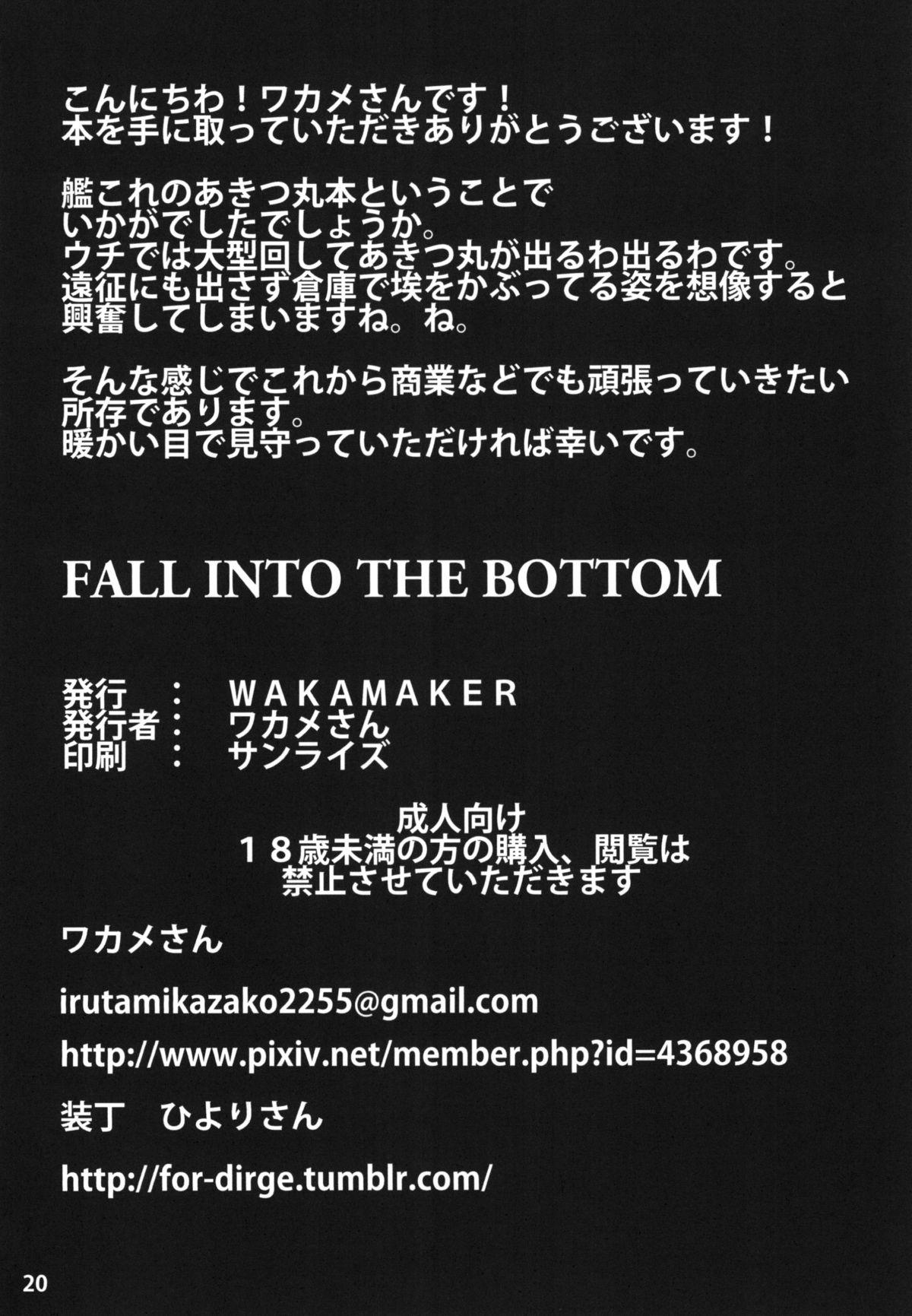FALL INTO THE BOTTOM 18