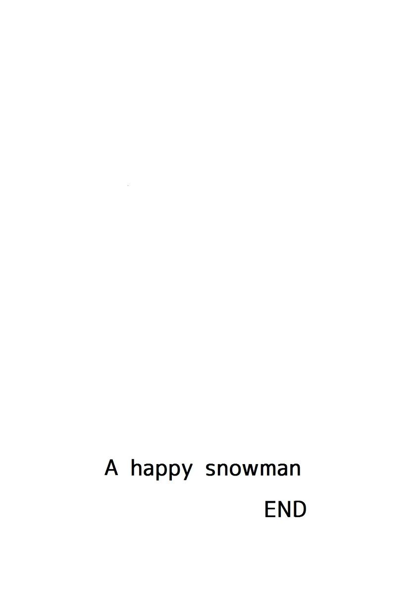 Shiawase na Yukidaruma - A happy snowman | 幸福的雪人 25