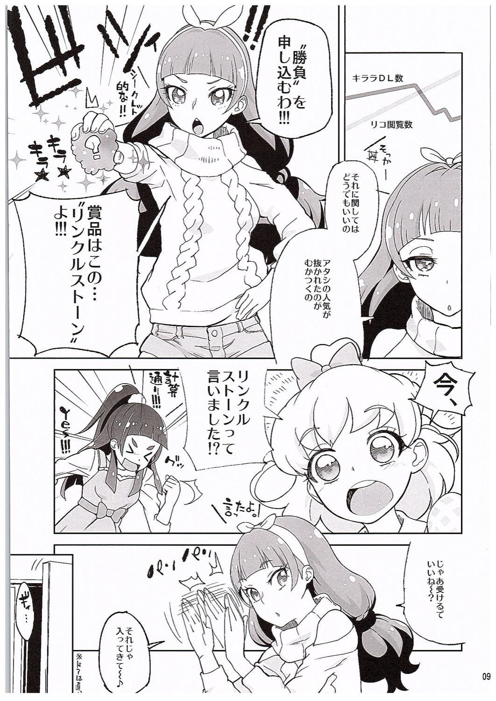 Amanogawa Kirara Riko to Mirai to Ero Nama Haishin Shoubu Anal demo Nan demo Misetekureru Choroi Namanushi ga PreCure datta Ken. 7