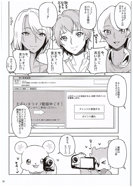 Amanogawa Kirara Riko to Mirai to Ero Nama Haishin Shoubu Anal demo Nan demo Misetekureru Choroi Namanushi ga PreCure datta Ken. 8