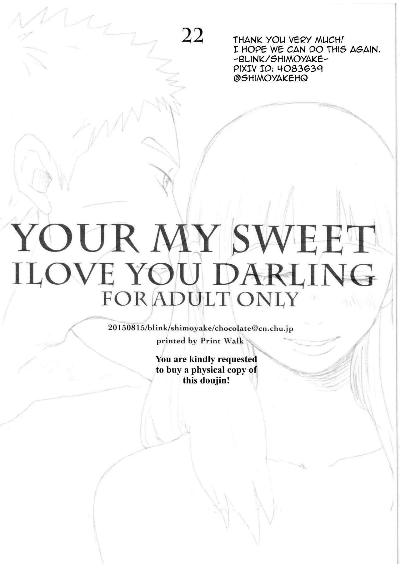 YOUR MY SWEET - I LOVE YOU DARLING 22