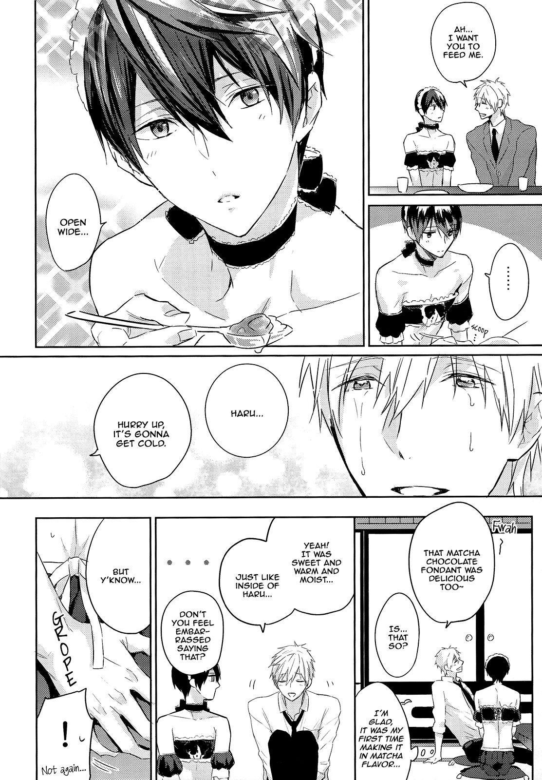(Renai Endorphin 3) [Sneeeze (Kubu)] Kocchi Muite Maid-san   Over Here, Maid-san (Free!) [English] [mgqr scans] 8