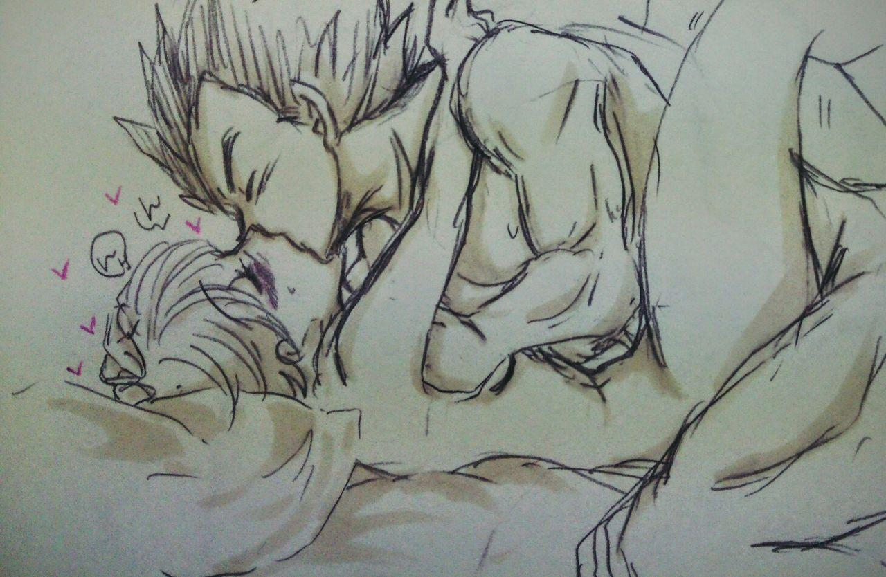 VegeBul rakugaki manga modoki 23