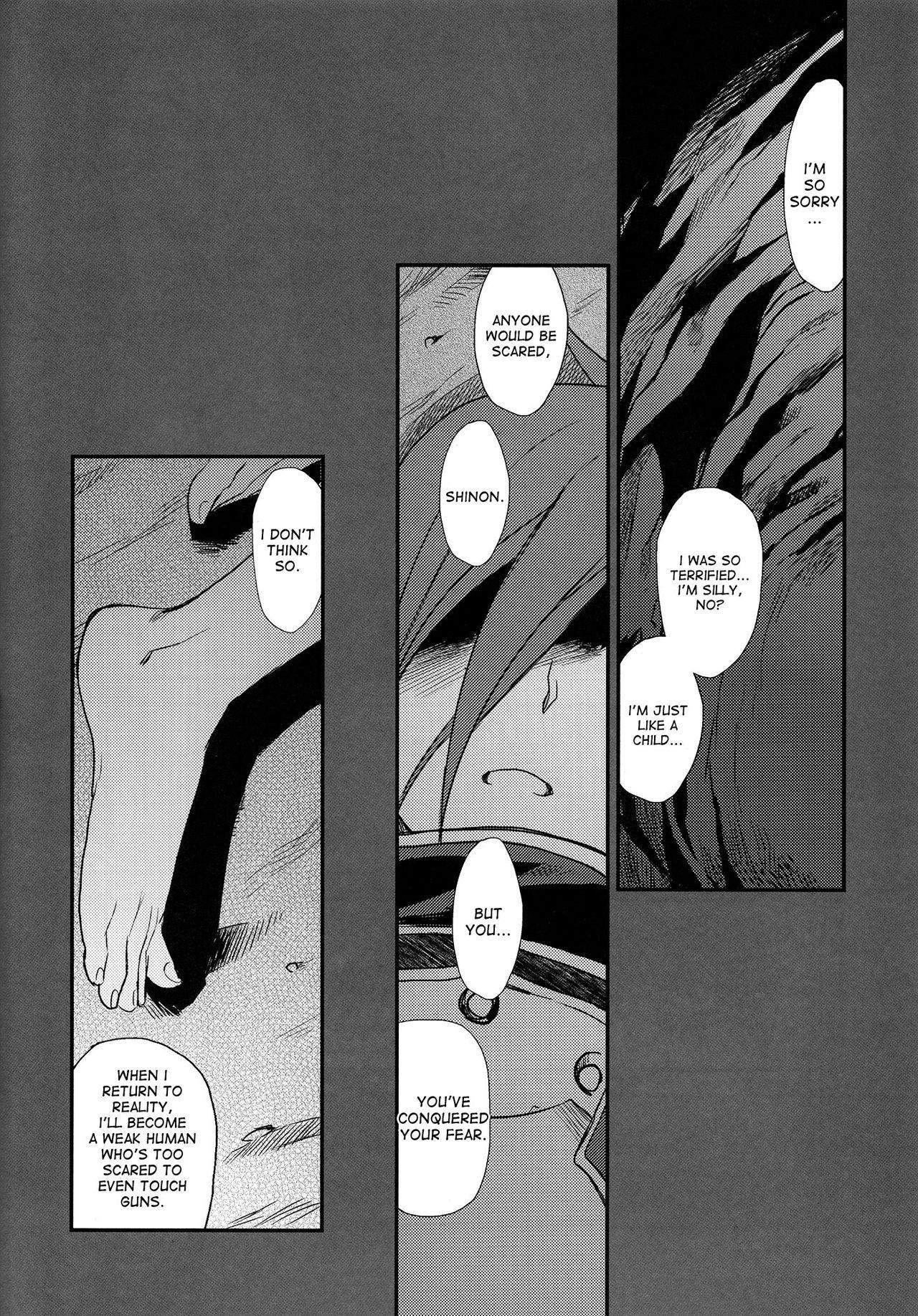(C87) [TEX-MEX (Red Bear)] SSS Sinon-chan Sinon-chan Sukisuki (Sword Art Online) [English] [desudesu] 20
