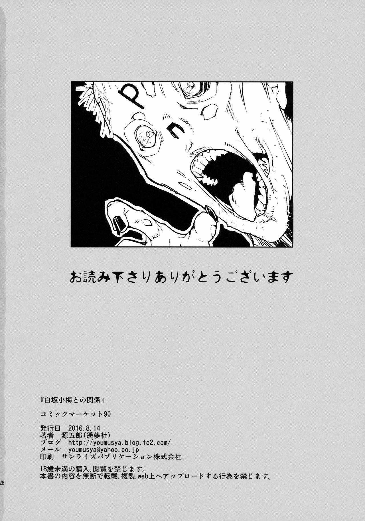 Shirasaka Koume to no Kankei 25