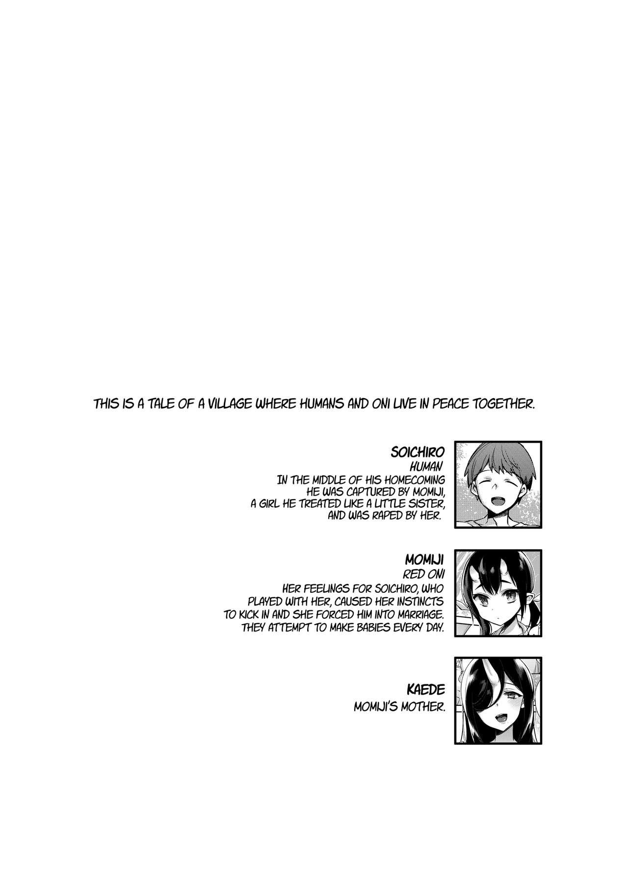 Mating with Oni - Mother Chapter 2