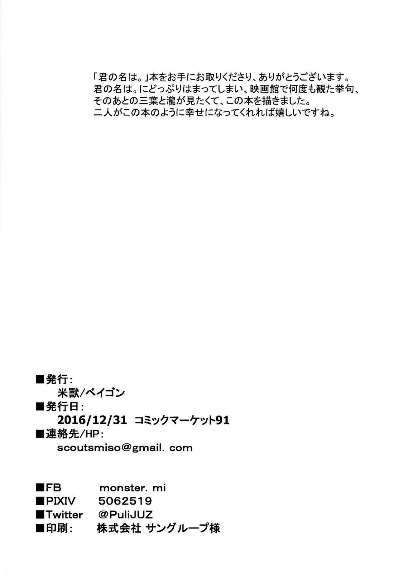 Kimi no Hon wa. 20