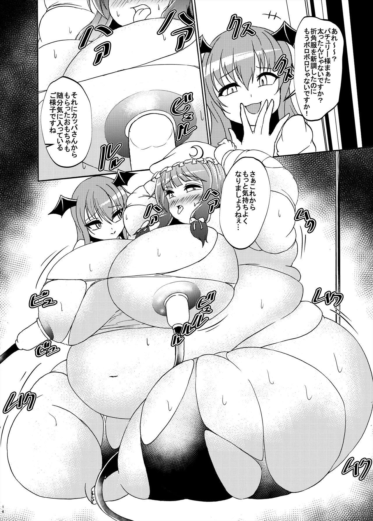 Patchouli-sama ga Futotte Sakunyuu Sareru Hon 15