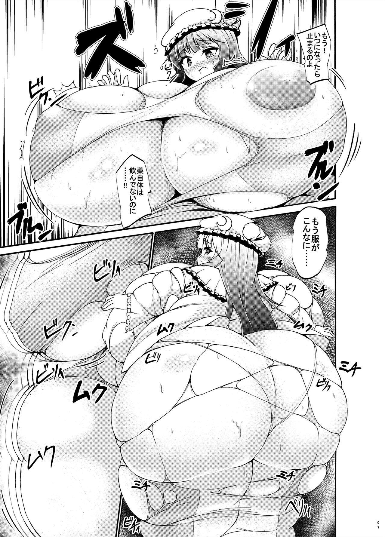 Patchouli-sama ga Futotte Sakunyuu Sareru Hon 6