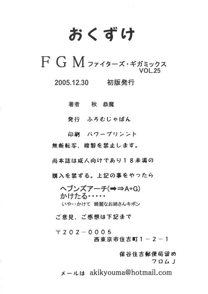FIGHTERS GIGAMIX FGM Vol.25 32