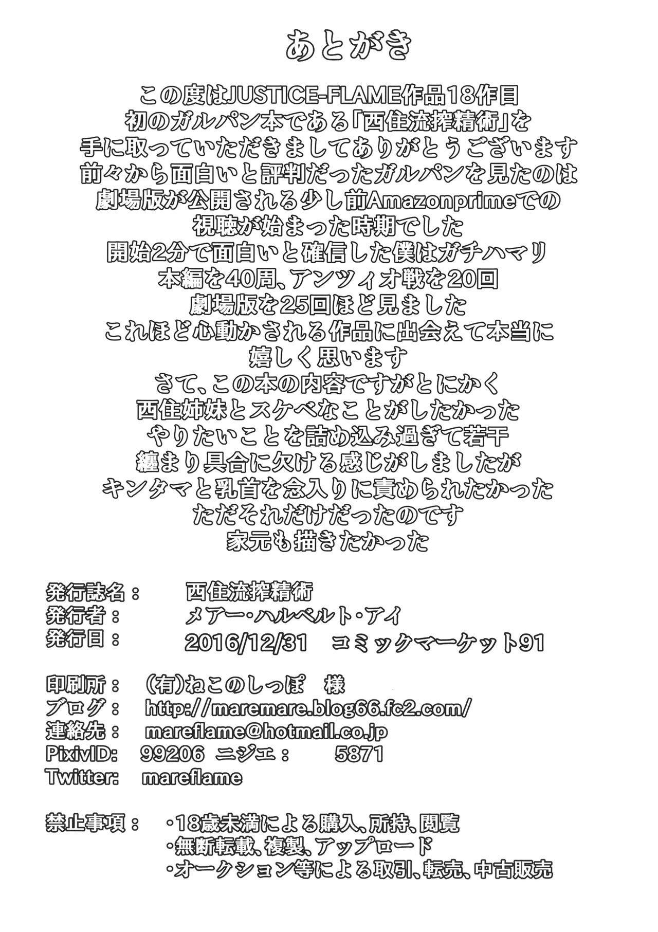 Nishizumi-ryuu Sakusei Jutsu 28