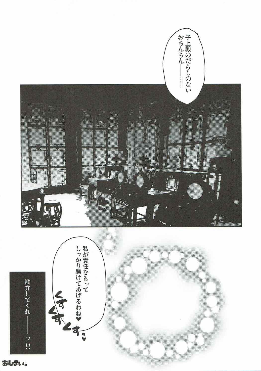 Watashi ni Sonna ni Ashi de Oshioki Saretai no? 9