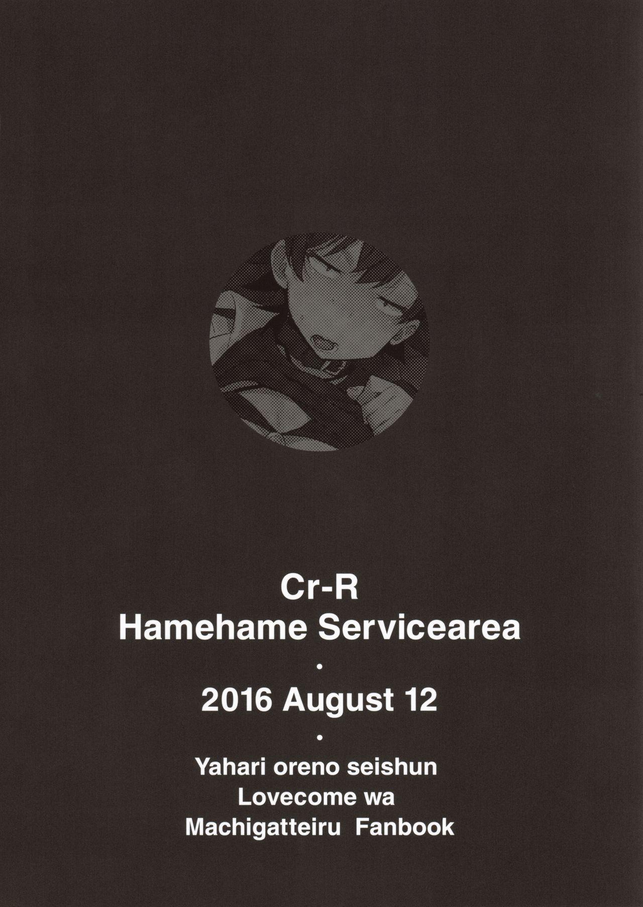 (C90) [Hamehame Service Area (Cr-R)] Hikigaya Hachiman no Houshi Katsudou Kiroku -Costume Play Hen- | Hikigaya Hachiman's Record of Volunteering - Cosplay Chapter - (Yahari Ore no Seishun Love Come wa Machigatteiru.) [English] 21