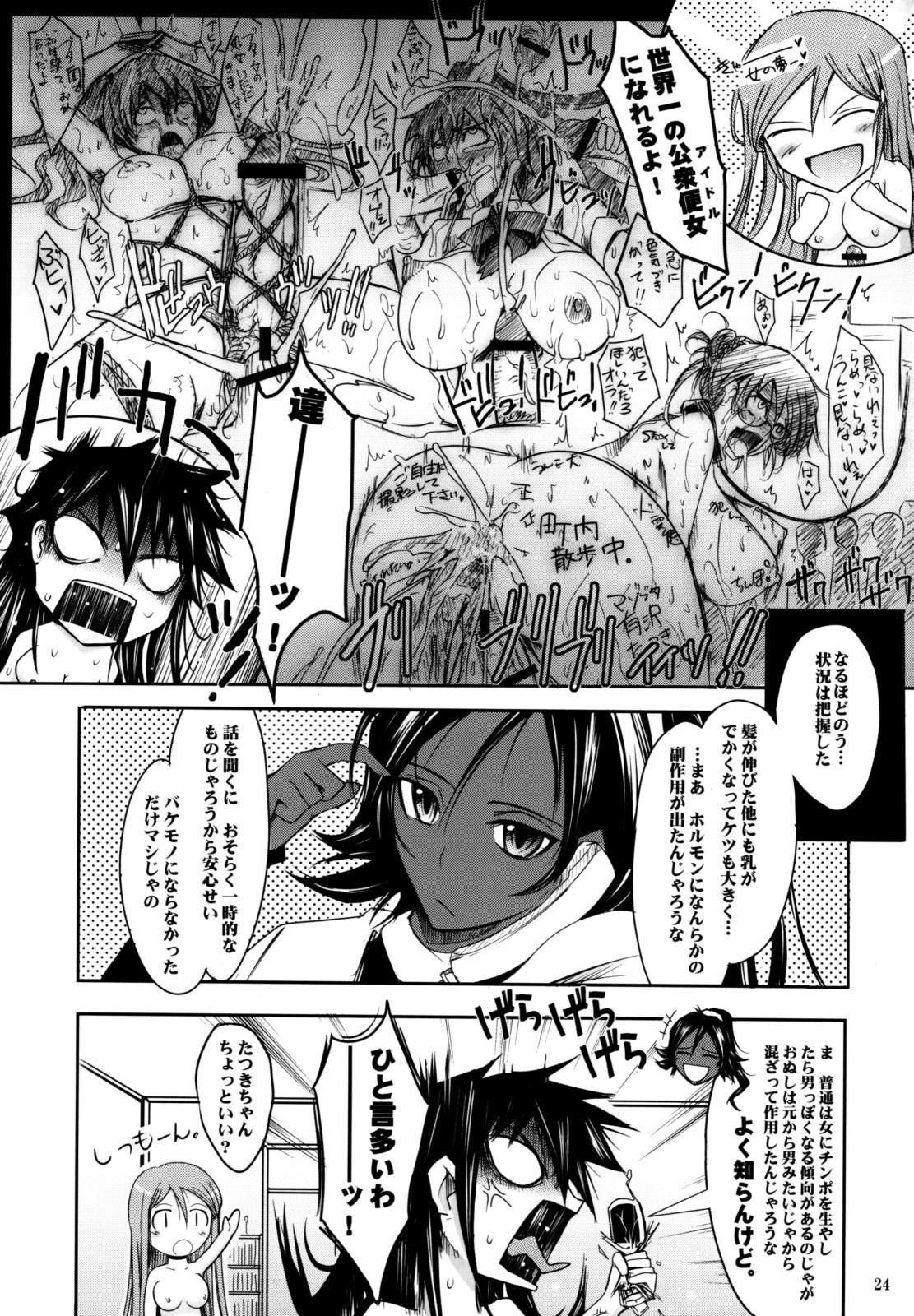 (C74) [Garyuh-Chitai (TANA)] Aki-Akane -ANOTHER DAY- (Bleach) 22