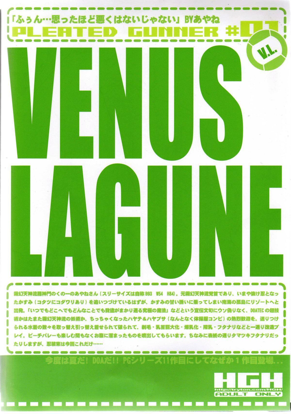 Pleated Gunner #01 - Venus Lagune 30