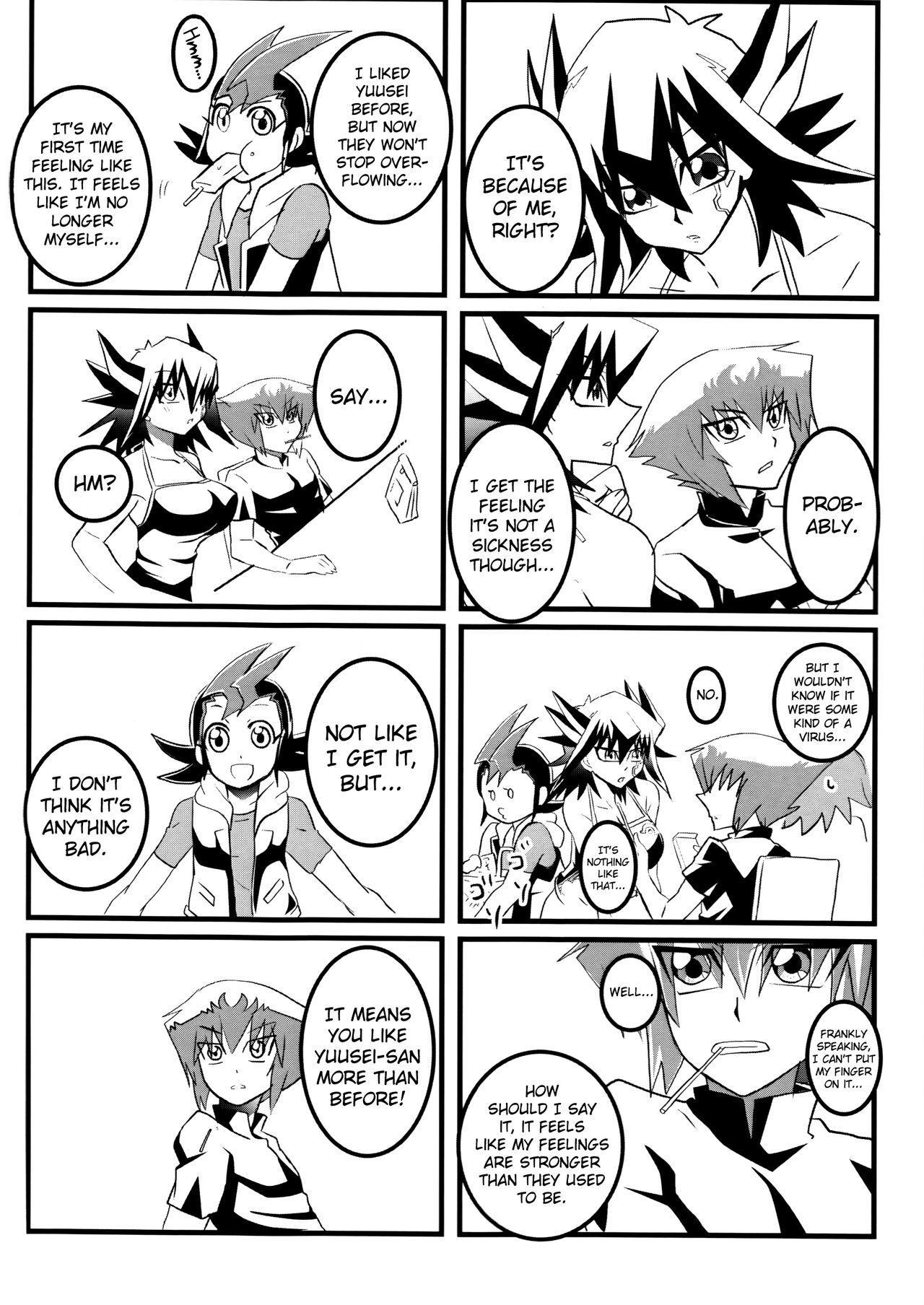 (Sennen Battle Phase 19) [Monpe Kagekiha (Murako)] Doutei Dai-san to Donkan Sei-san ♀ ga Koibito ni naru made no Yakusuun Hi (Yu-Gi-Oh! GX, Yu-Gi-Oh! 5D's) [English] [biribiri] 11