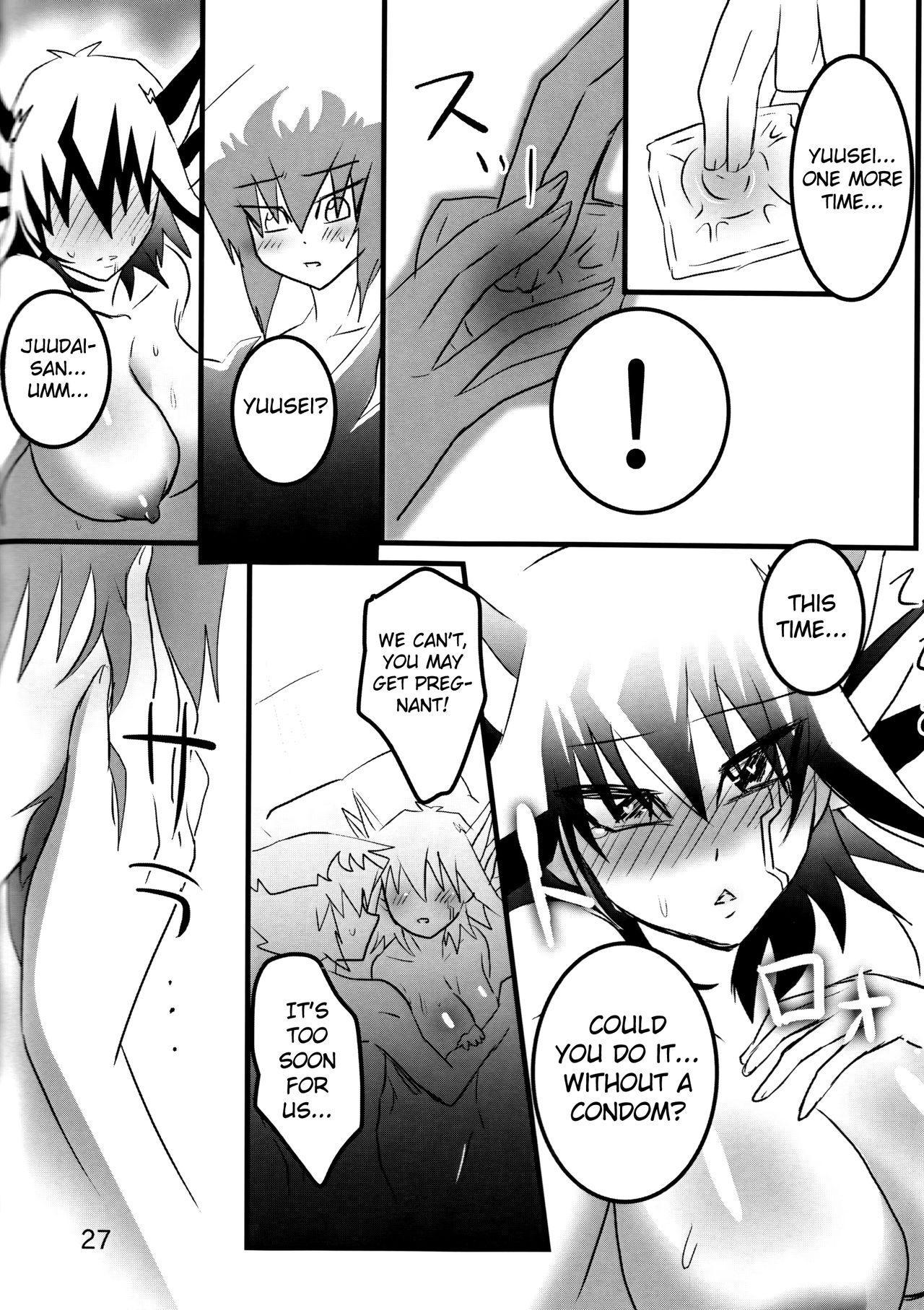 (Sennen Battle Phase 19) [Monpe Kagekiha (Murako)] Doutei Dai-san to Donkan Sei-san ♀ ga Koibito ni naru made no Yakusuun Hi (Yu-Gi-Oh! GX, Yu-Gi-Oh! 5D's) [English] [biribiri] 27
