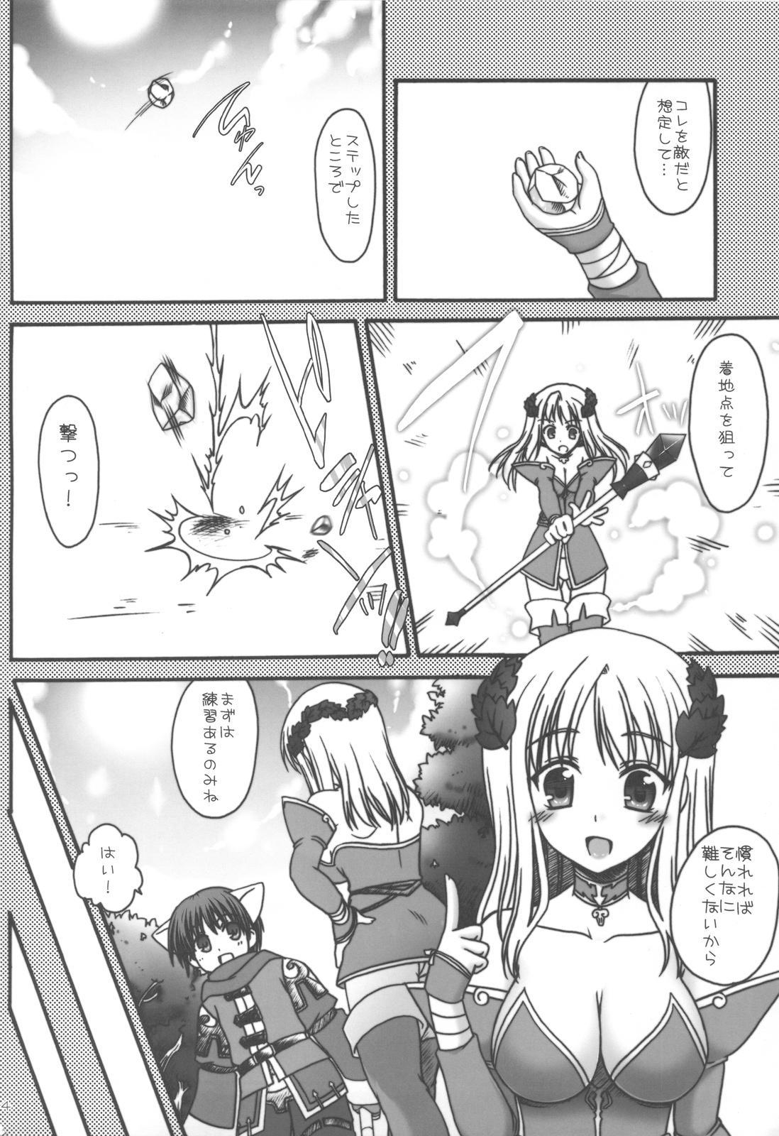 (C75) [Iiwake Gaisya (Shigemiya Kyouhei)] Koori Sara-san to Kaminari Sara-kun. (Fantasy Earth Zero) 2
