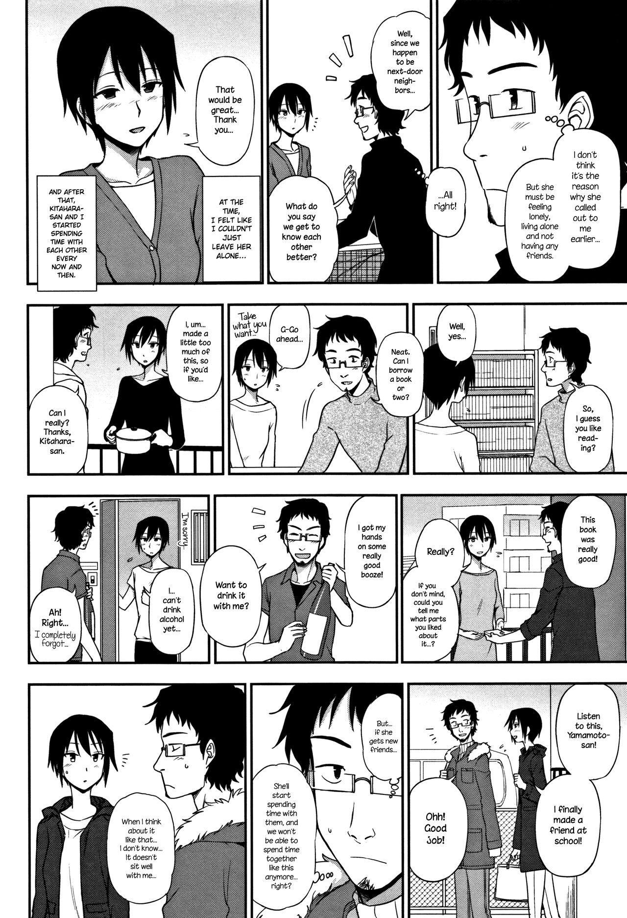 [Kumano Tooru] Otonari-san | Next-Door Neighbor (Kimochi Ii no ga Suki Nandesu) [English] {NecroManCr} 5