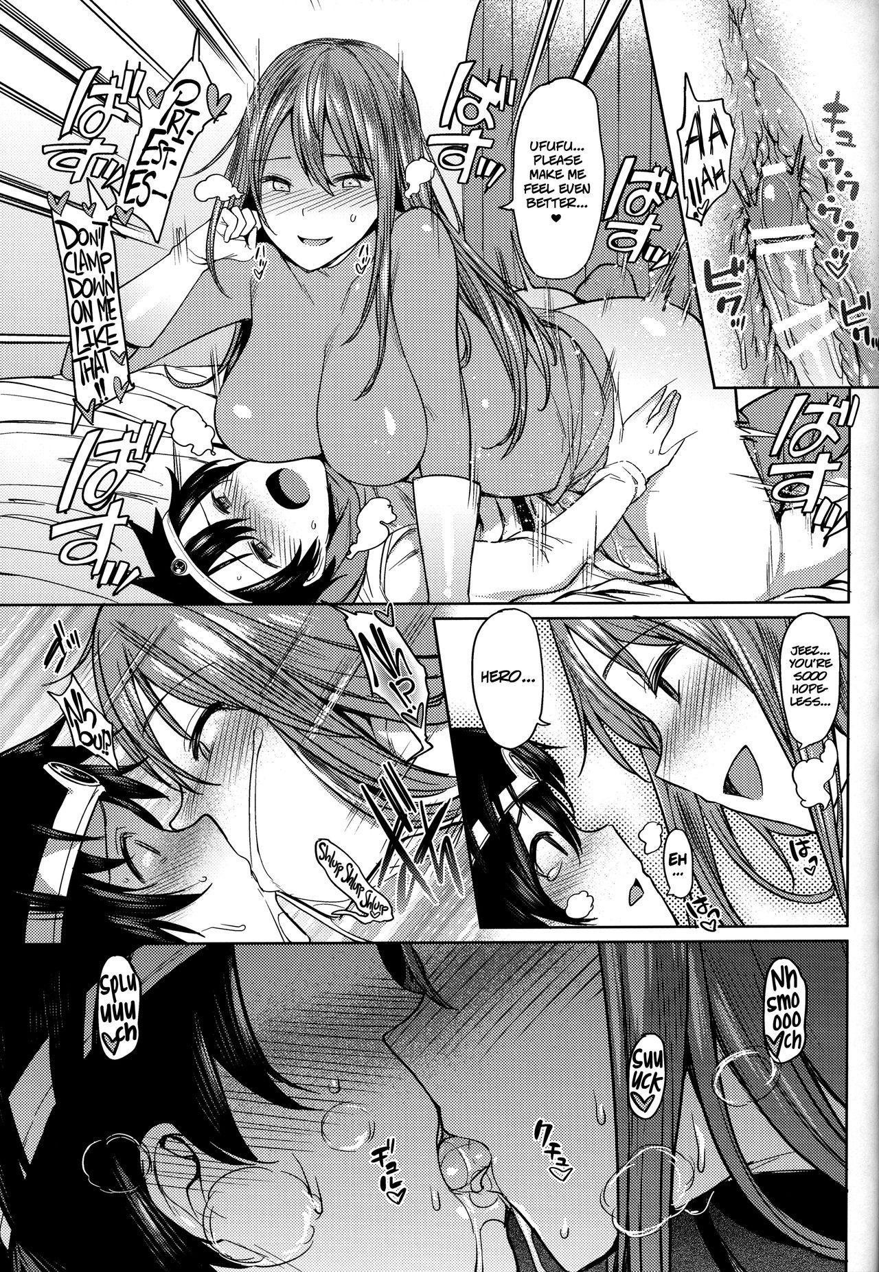 Yurushite! Souryo-san | Let me go, Priestess! 12