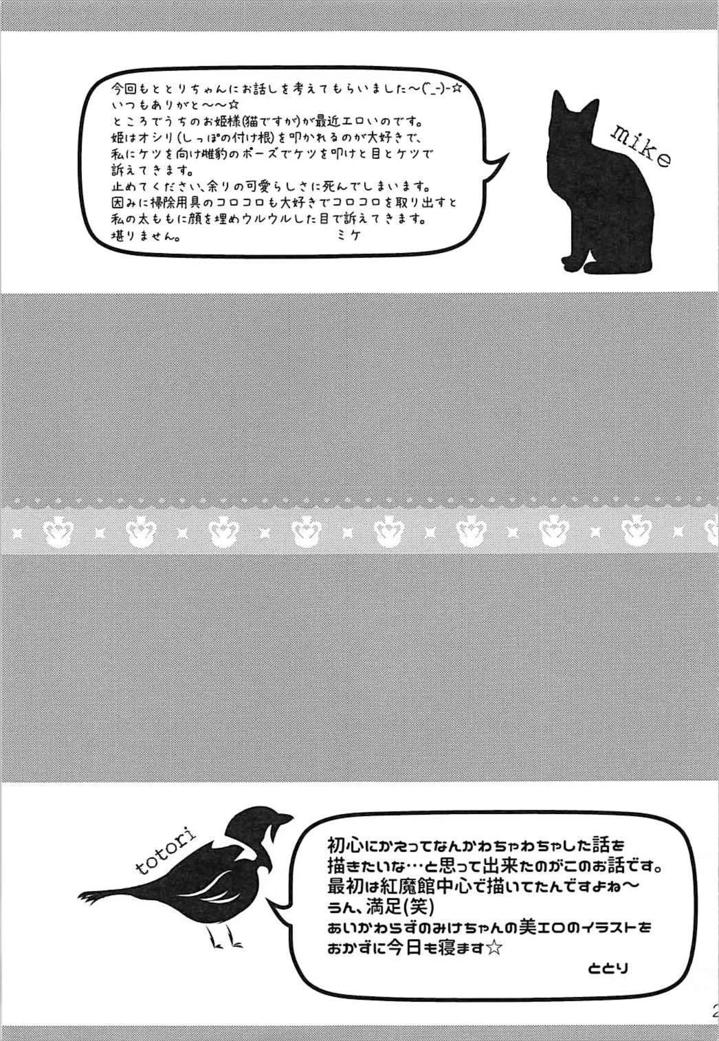 Toumei Ningen ni Natta no de, Itazura Shi ni Iku Hanashi. 19