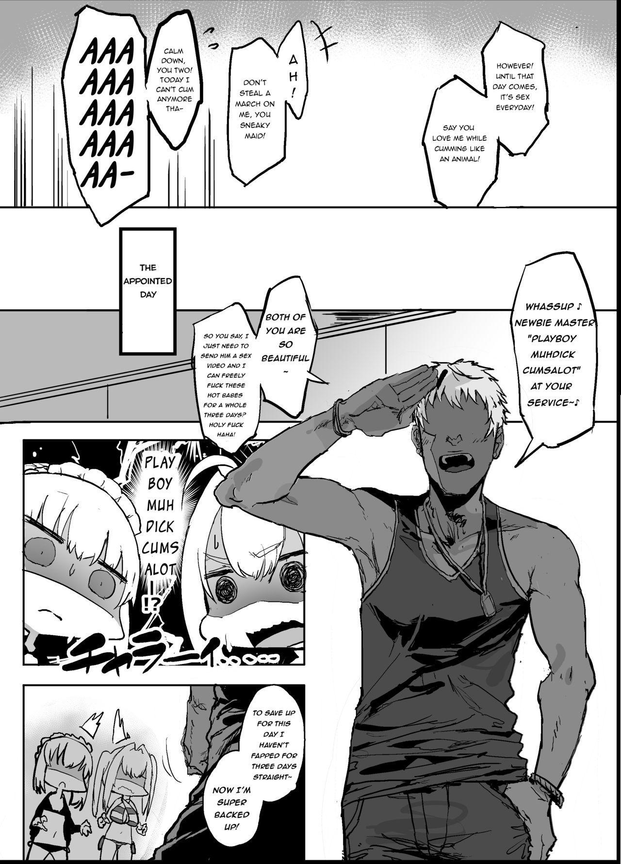 Yarichin ni Gohoushi Sex Suru Nama Onaho to Seishori Maid Netorase Hon 3