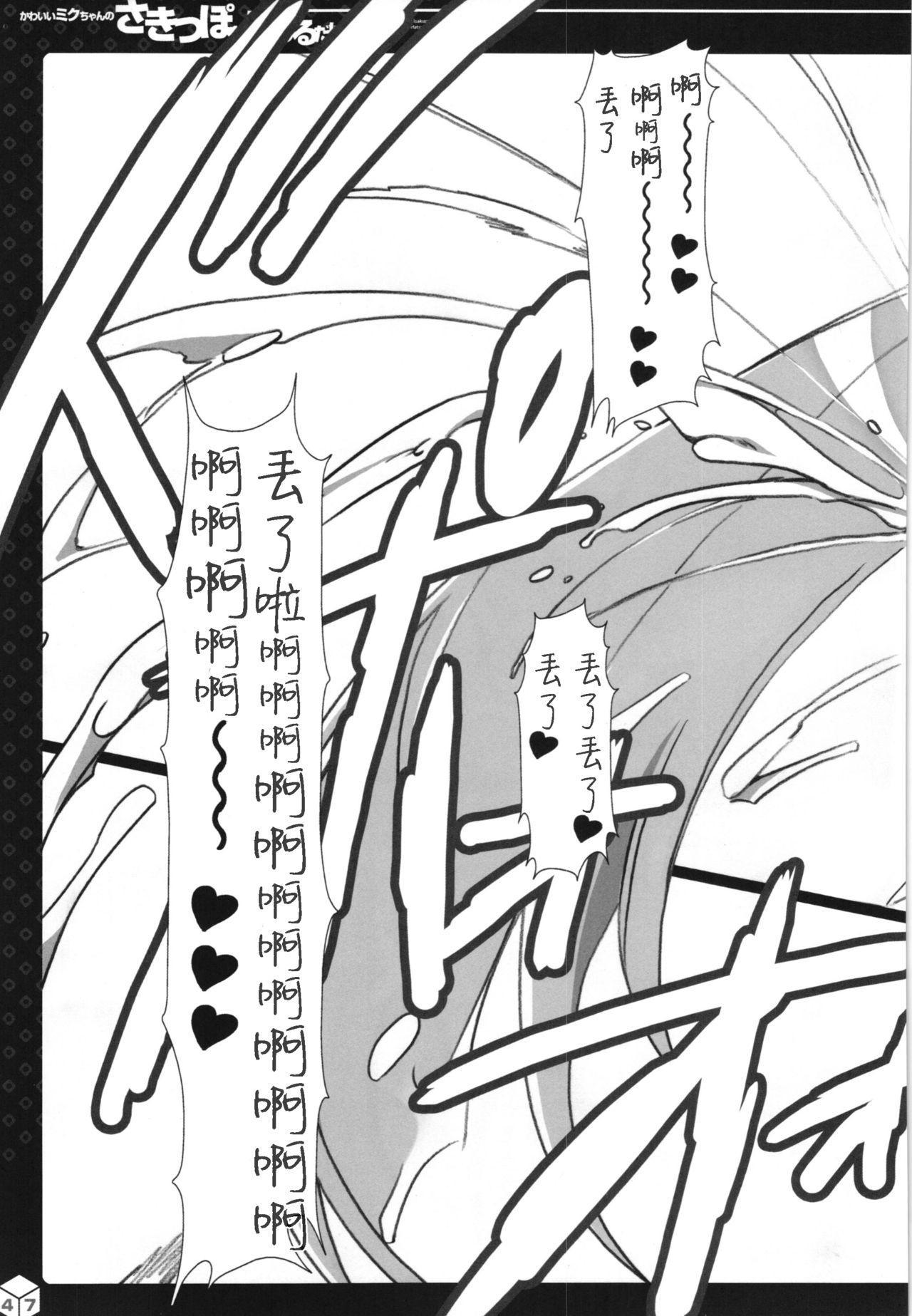 Kawaii Miku-chan no Sakippo o Ijiru dake   只是来欺负初音可爱的尖尖而已 31
