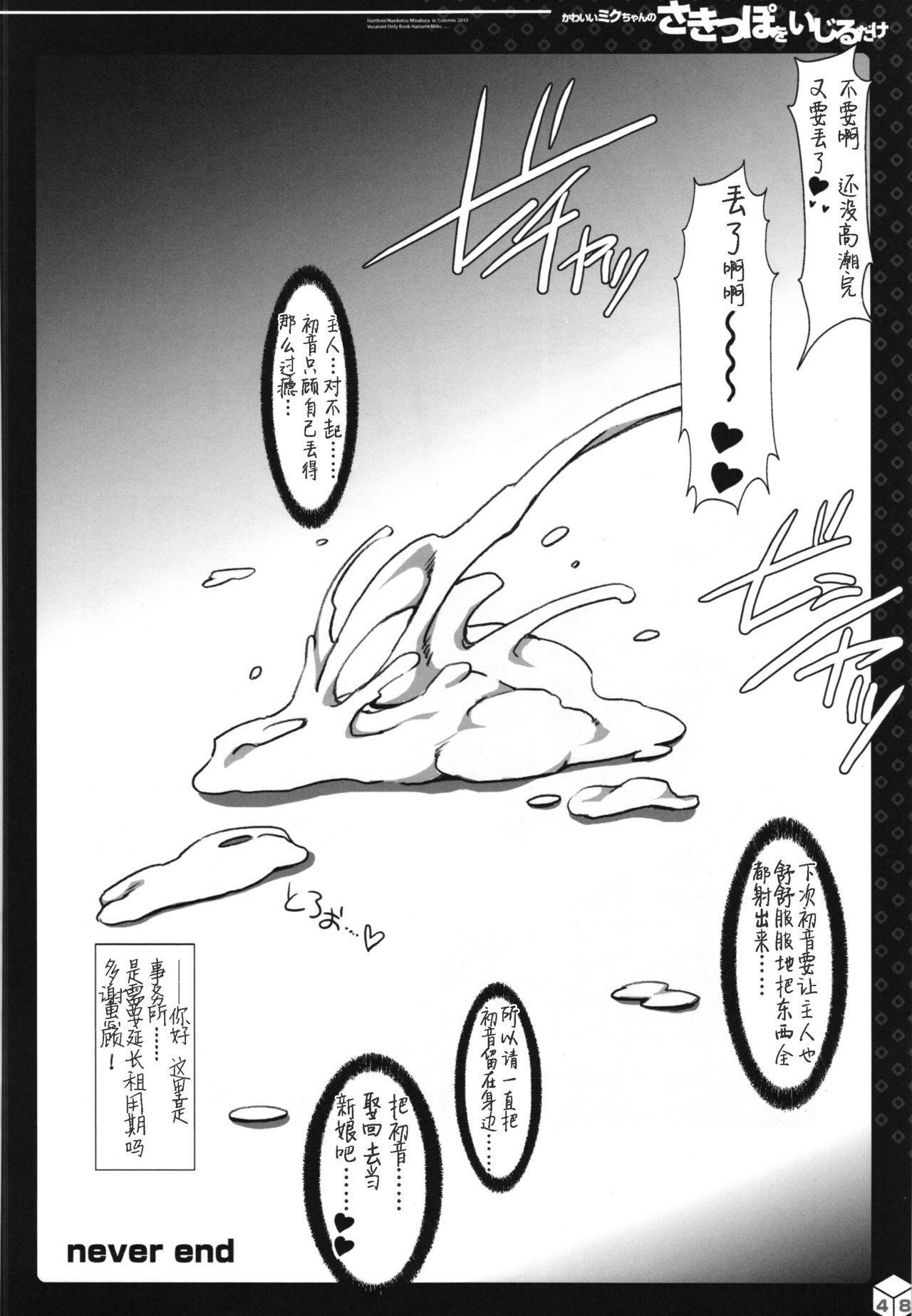 Kawaii Miku-chan no Sakippo o Ijiru dake   只是来欺负初音可爱的尖尖而已 32