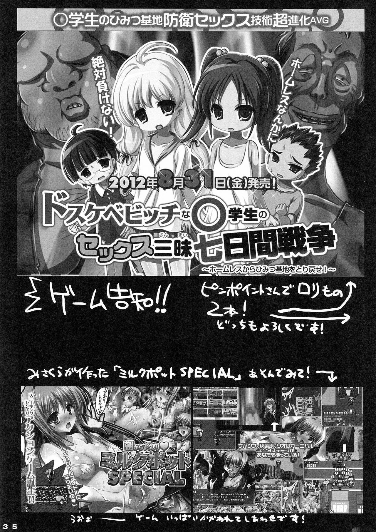 Kawaii Miku-chan no Sakippo o Ijiru dake   只是来欺负初音可爱的尖尖而已 35
