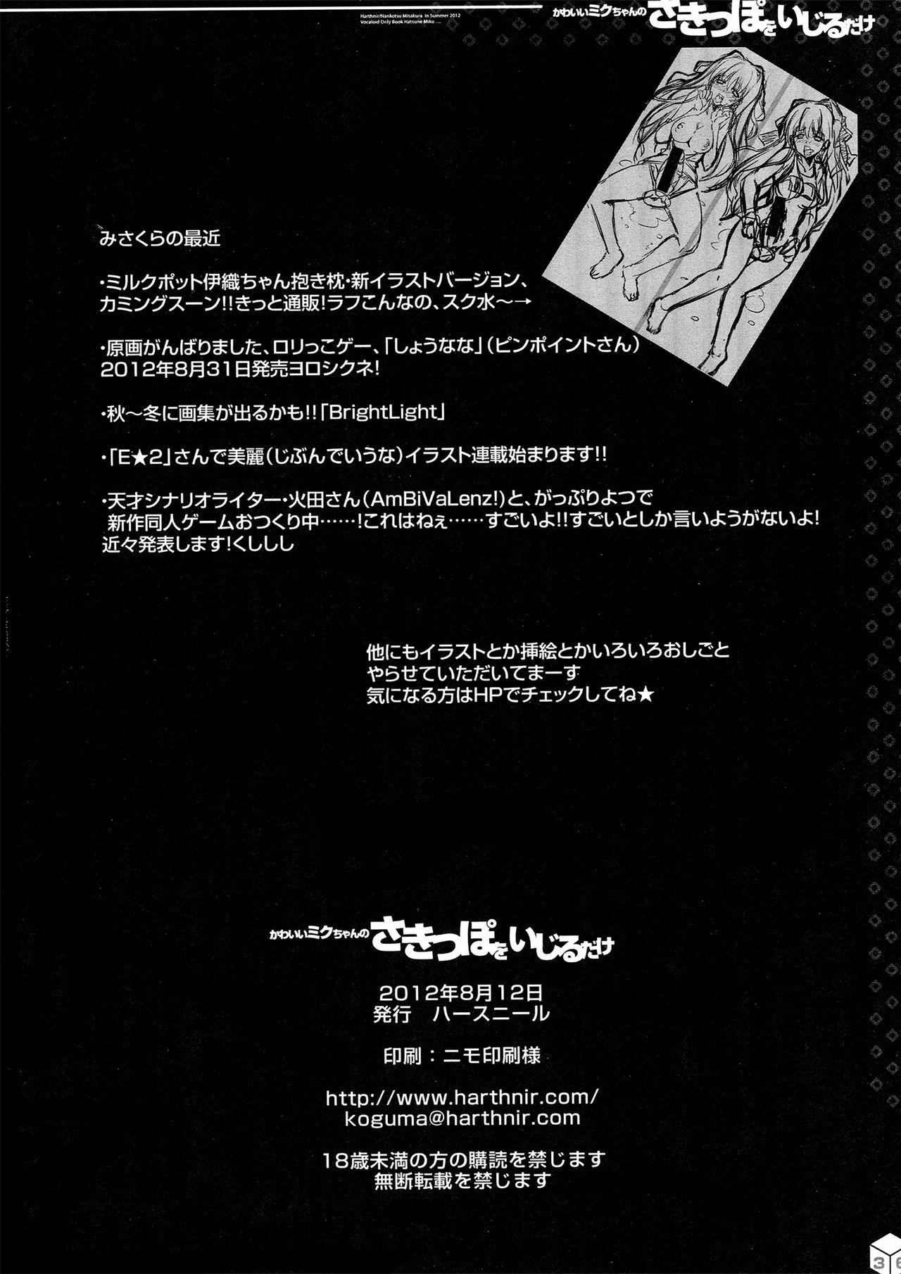 Kawaii Miku-chan no Sakippo o Ijiru dake   只是来欺负初音可爱的尖尖而已 36