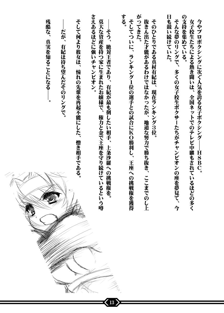 Kentou Shoujo Yuki Prologue Book 11