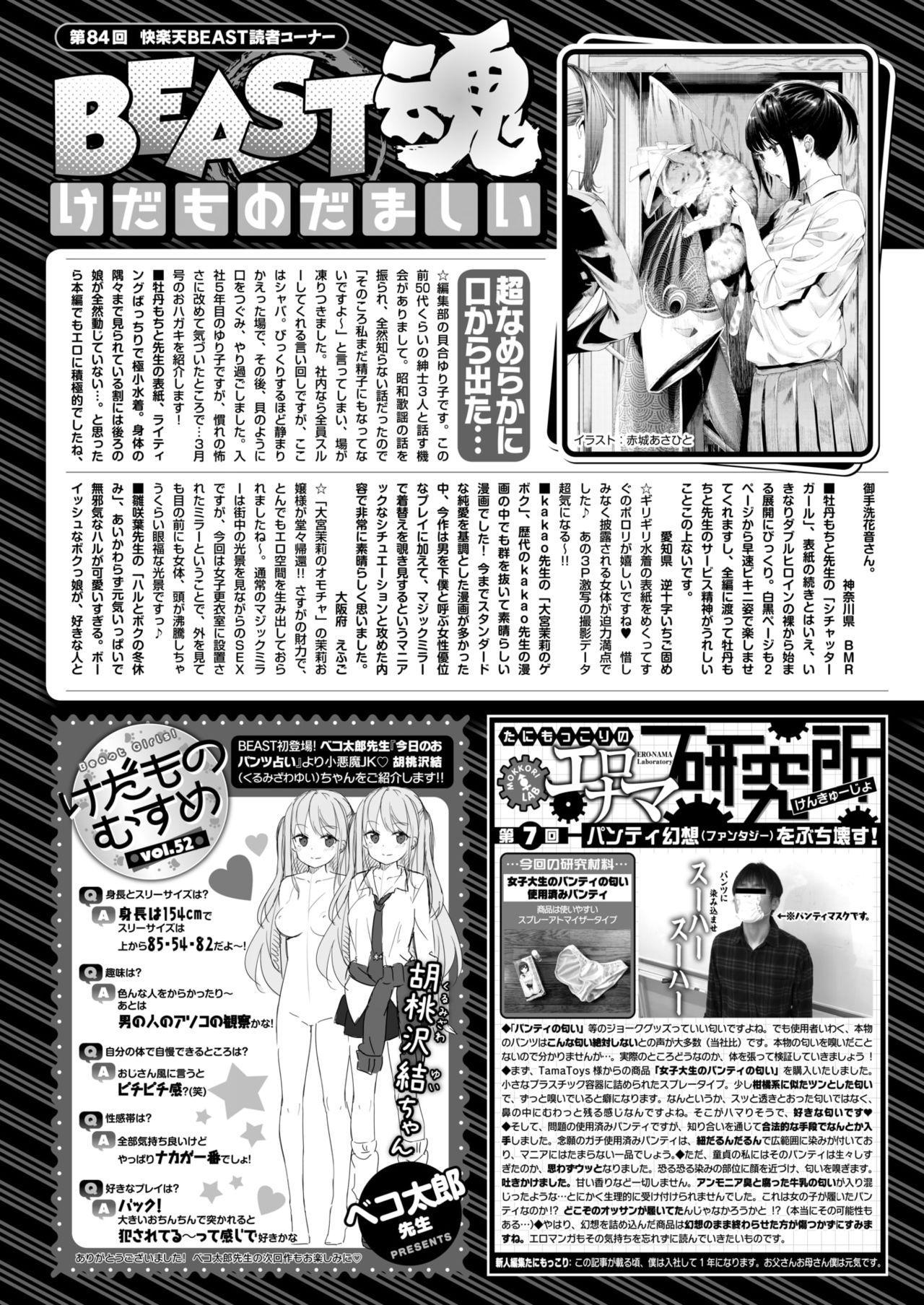 COMIC Kairakuten BEAST 2018-05 297