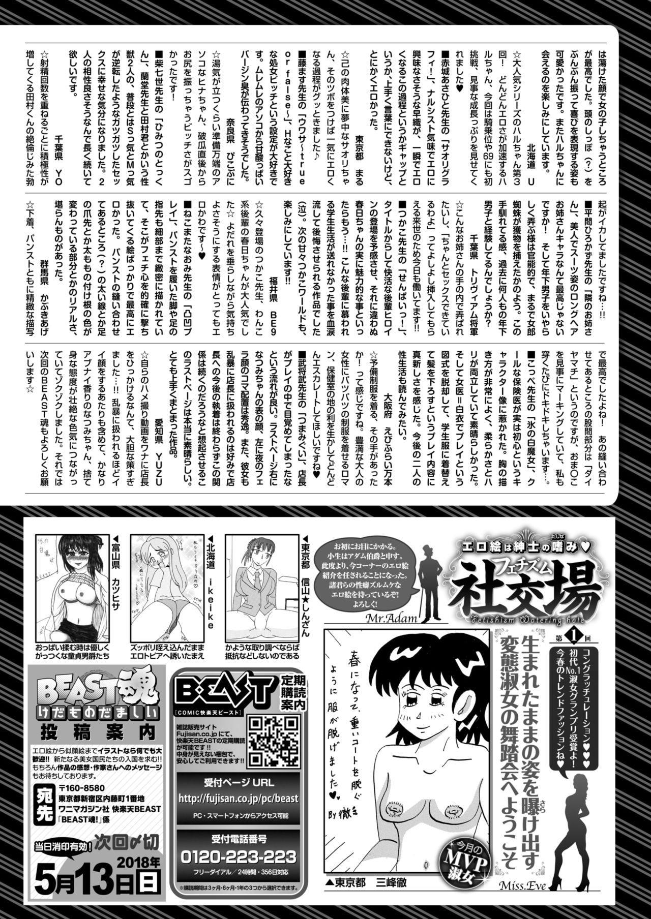 COMIC Kairakuten BEAST 2018-05 298