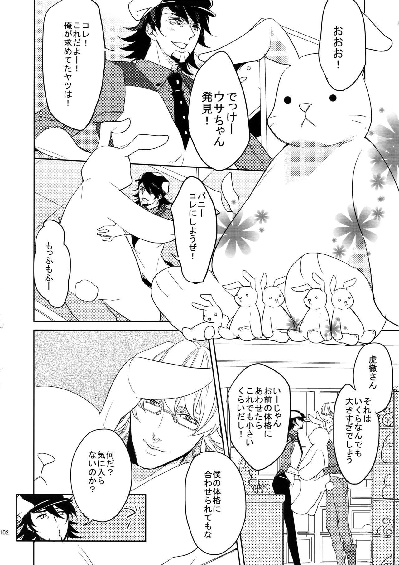 BOROZS Usagi Tora Sairoku 100