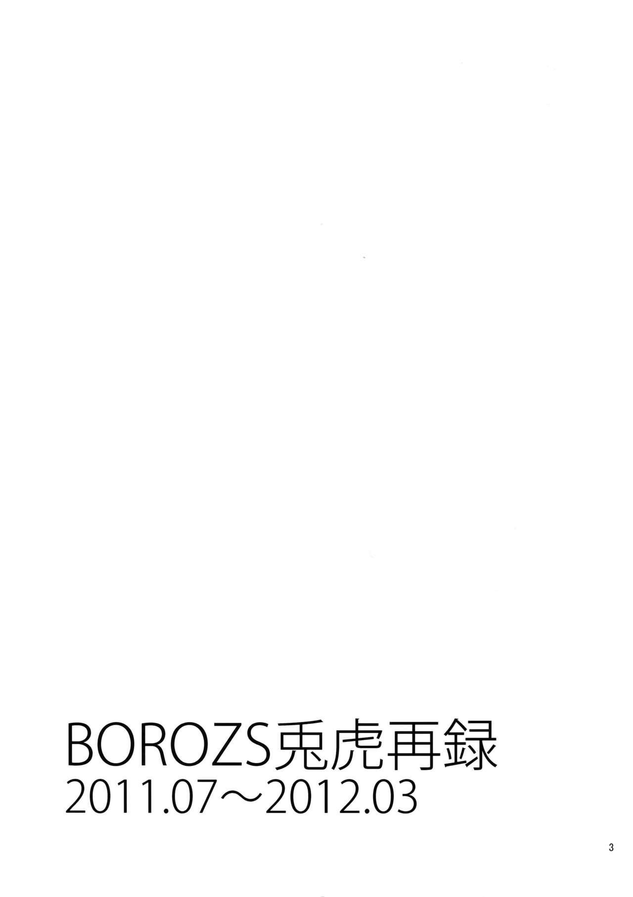 BOROZS Usagi Tora Sairoku 1